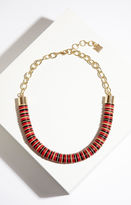 BCBGMAXAZRIA Beaded Chain Tribal Necklace