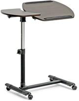 Wholesale Interiors Olsen Wenge Wheeled Laptop Tray Table