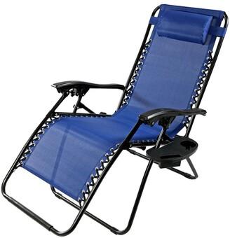 Sunnydaze Oversized Zero Gravity Lounge Chair