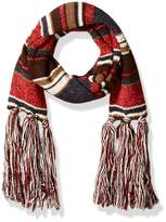 Muk Luks Women's Love America Basic Scarf-Stripes