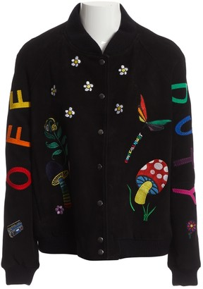 Mira Mikati Black Suede Jacket for Women