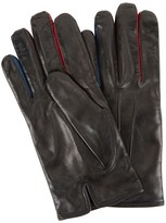 Paul Smith Black Leather Gloves