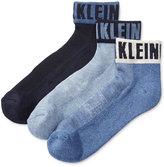Calvin Klein Men's Logo Socks, 3-Pack