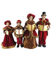 Asstd National Brand 20-27 Victorian Carolers- Set of 4