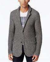 Armani Exchange Men's Notched Lapel Sweater Blazer