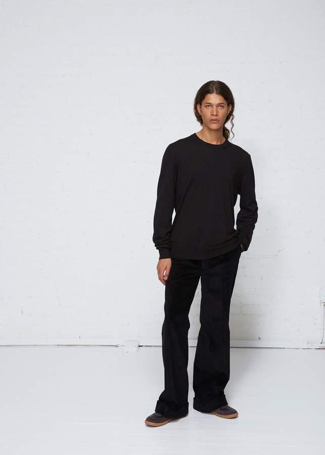 Maison Margiela Elbow Patch Crew Sweater