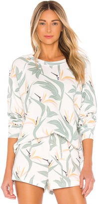 Wildfox Couture Bird Of Paradise Sommers Sweatshirt