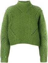 Isabel Marant Farren pullover - women - Polyester/Wool/Alpaca - 36