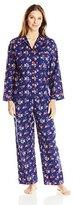 Cyberjammies Women's Jasmine Printed Pajama Set