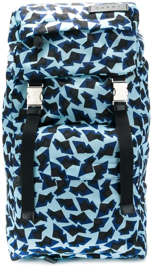 Marni printed backpack