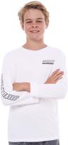 Hurley Boys Launch Ls Shirt White