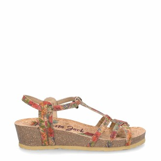 Panama Jack Women's Charo Cork Ankle Strap Sandals