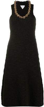 Bottega Veneta Chain-Link Detail Knitted Dress