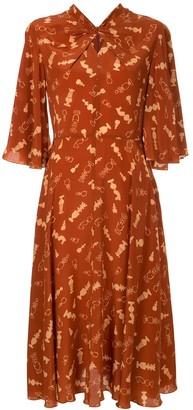 Karen Walker Queen's Bishop dress