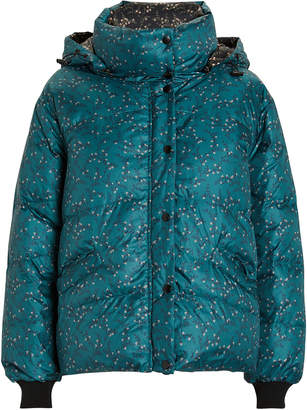 Jonathan Simkhai Floral-Printed Puffer Jacket