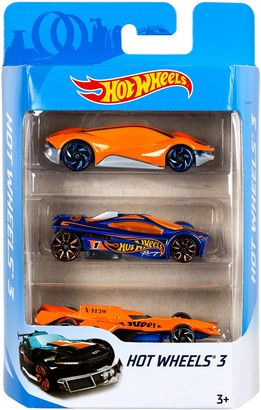 Mattel Hot Wheels(R) Cars 3-Pack