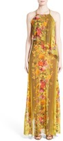 Fuzzi Women's Farfalla Print Maxi Dress
