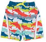 Big Chill Marlin Shark Stripe Board Shorts - Boys