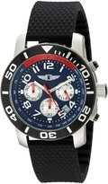 I by Invicta Men's 41701-003 Chronograph Stainless Steel Black Rubber Watch