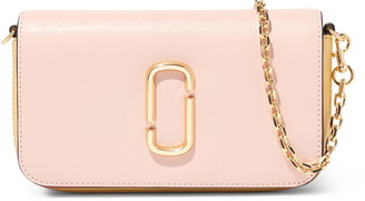 Marc Jacobs The Snapshot Leather Wallet on a Chain