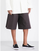 Toogood The Boxer Wide-leg Cotton Shorts