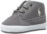 Ralph Lauren Waylon Mid Suede Sneaker (Infant/Toddler)