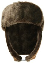 Forever 21 Men Faux Suede Trapper Hat