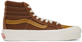 Vans Brown Suede OG 138 LX High-Top Sneakers