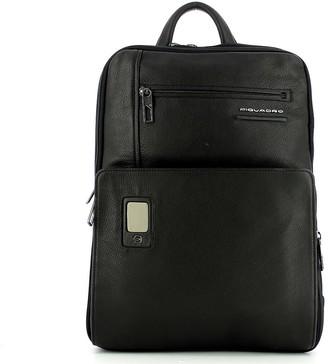 Piquadro Mens Black Backpack