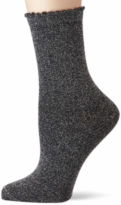 Pieces Women's Pcsebby Glitter Long 1 Pack Socks Noos Calf