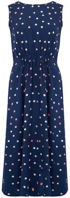Sugarhill Brighton Gloria Polka Batik Tie Back Dress