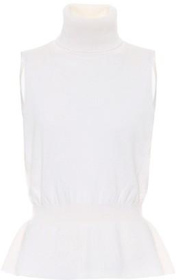 Veronica Beard Noor turtleneck cashmere top