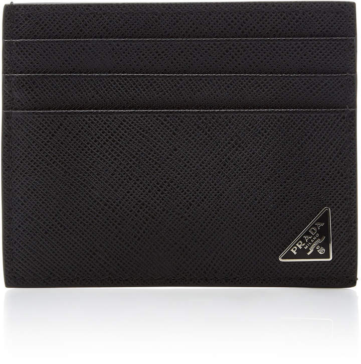 27e8acbb72fa Mens Prada Card Wallet - ShopStyle