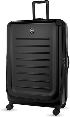 Victorinox Black Spectra 2.0 Expandable Four-Wheel Suitcase, Size: 82cm