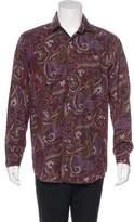 Etro Paisley Print Woven Shirt