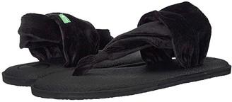 Sanuk Yoga Sling 2 Corduroy (Black) Women's Shoes