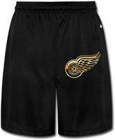 ONHSGBD Detroit Red Wings Gold Men's Shorts Sweatpants 100% Cotton