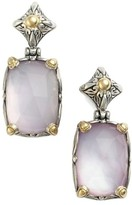 Konstantino Women's 'Iliada' Rectangle Double Drop Earrings