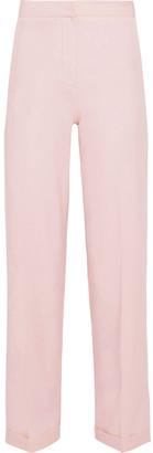 Iris & Ink Layne Twill Wide-leg Pants