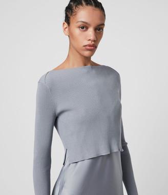 AllSaints Hera 2-in-1 Dress
