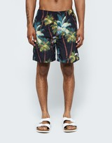 Stussy Palm Short in Black