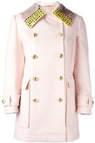 Altuzarra sequin embellished collar coat