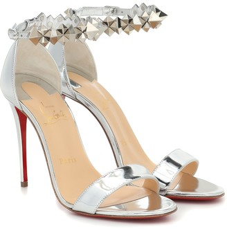 Christian Louboutin Planetava patent leather sandals