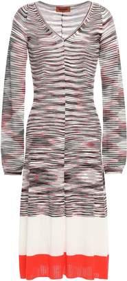 Missoni Intarsia Wool-blend Dress