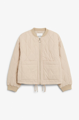 Monki Quilted jacket
