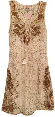 Calypso St. Barth \N Ecru Cotton Dress for Women