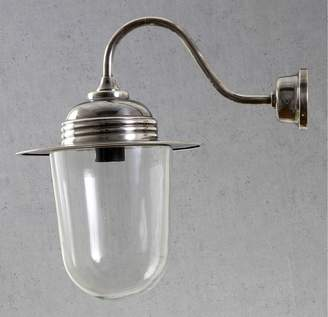 Emac & Lawton Indoor/outdoor Stanmore Wall Lamp Antique Silver