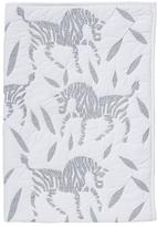 DwellStudio Zebra Quilted Play Blanket