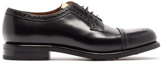 Gucci Darko Leather Derby Shoes - Mens - Black