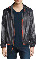 Andrew Marc Harrington Water-Resistant Jacket, Gray Pattern